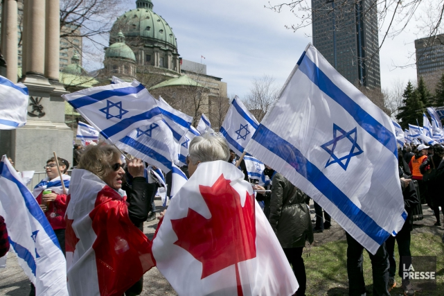 On peut reconnaitre l'État d'Israël, on peut être... (archives La Presse)