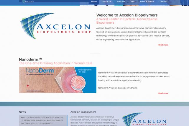 L'entreprise Axcelon Biopolymers Corp veut implanter une usine... (Capture d'écran)