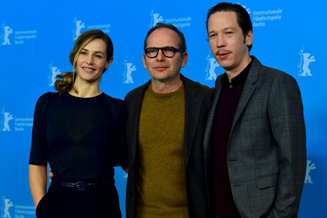 L'actrice Cécile de France, le réalisateur Étienne Comar... (AFP, John MacDougall)