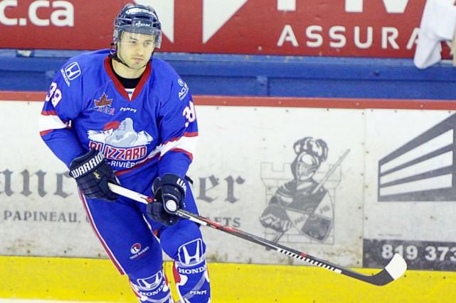 Frédéric St-Denis passera le week-end avec le Blizzard.... (Courtoisie Daniel Dupuis)