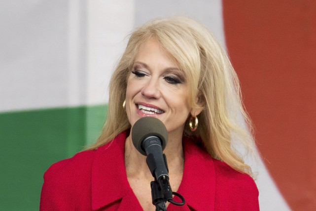 Kellyanne Conway... (Archives AFP)