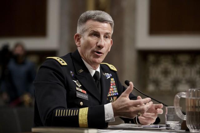 Le général John Nicholson... (AP, J. Scott Applewhite)
