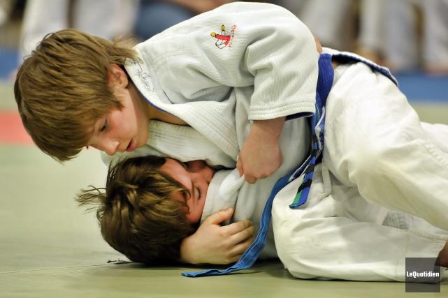 Près de 500 judokas participeront à la Coupe... (Archives Le Quotidien, Rocket Lavoie)