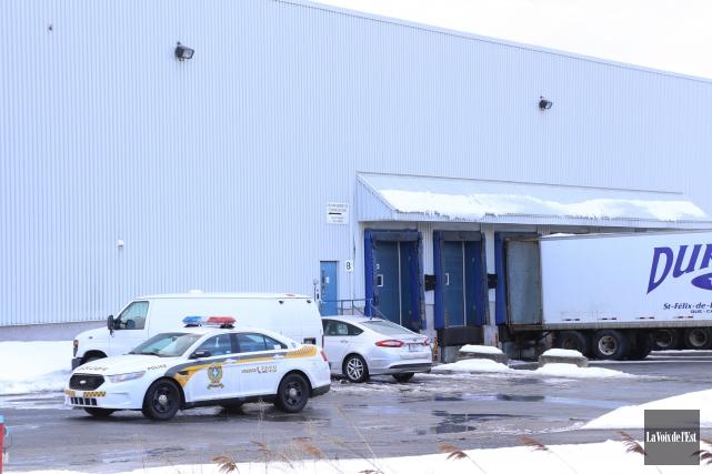 La Sûreté du Québec et la Commission des... (Janick Marois, La Voix de l'Est)