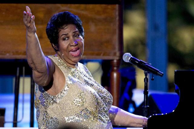Aretha Franklin, qui aura 75 ans le mois... (Archives AP)