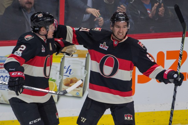 Le but de Mark Stone a fait la... (Photo Marc DesRosiers, USA TODAY Sports)