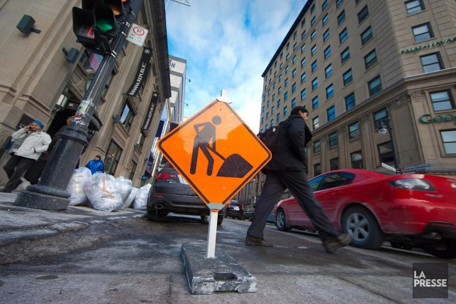 La Ville de Montréal compte revoir de fond... (André Pichette, archives La Presse)