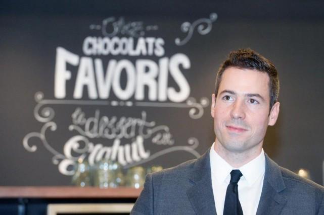 Dominique Brown, président de Chocolats Favoris... (Photo Jean-Marie Villeneuve, Archives Le Soleil)