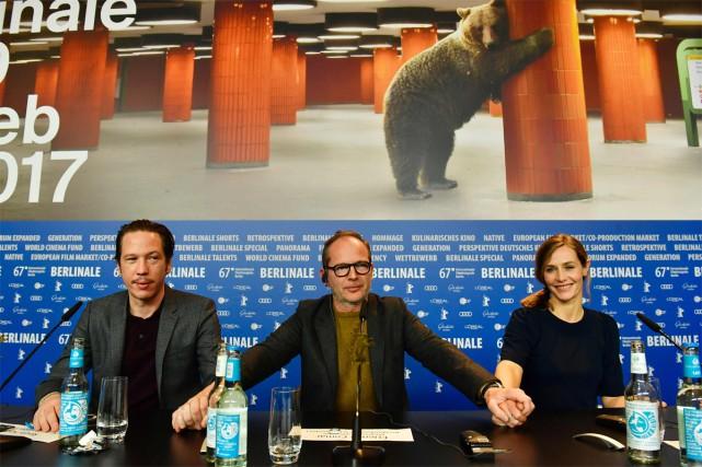 L'acteur Reda Kateb (à gauche) incarne le célèbre... (PHOTO AFP)