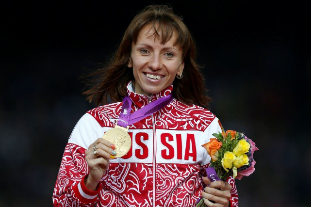 La Russe Maria Savinova avait remporté le 800 mètres... (Photo Eddie Keogh, archives Reuters)