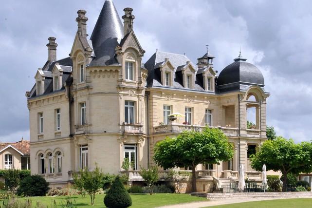 L'hôtel Grand Barrail dans la région de Saint-Émilion,... (PHOTO ARCHIVES AFP)