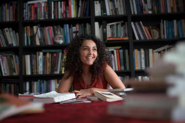 L'anthropologue, musicienne et romancière Yara El-Ghadban... (PHOTO OLIVIER PONTBRIAND, LA PRESSE)
