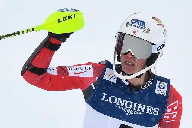 Marie-Michèle Gagnondit avoir été inspirée par les performances... (Photo Joe Klamar, AFP)