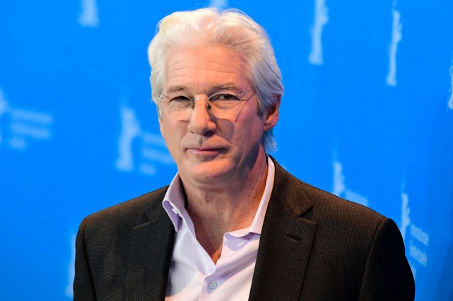 Richard Gere à la Berlinale.... (PHOTO AFP)