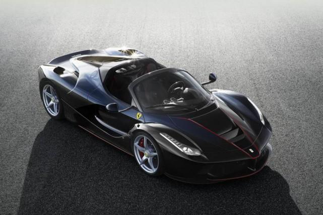 La Ferrari LaFerrari... (PHOTO Ferrari)