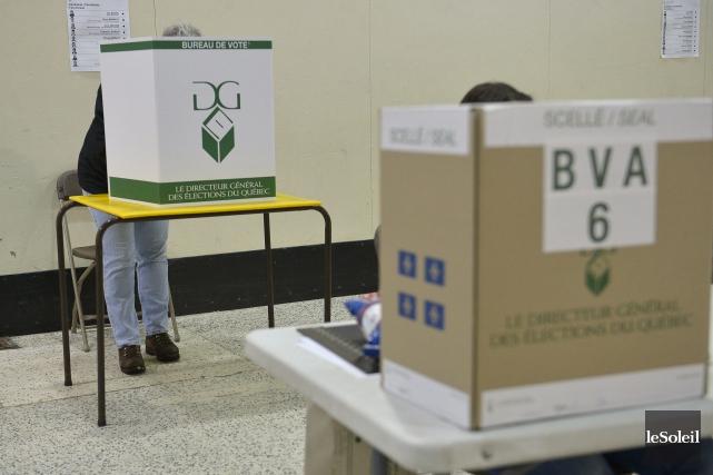 La carte électorale est révisée à toutes les... (Photo Yan Doublet, archives Le Soleil)