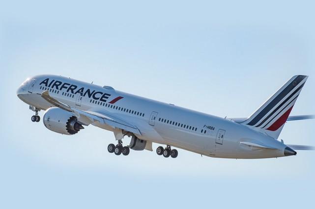 Depuis le début du mois de février, les passagers voyageant sur les ailes d'Air... (CAPTURE D'ÉCRAN)