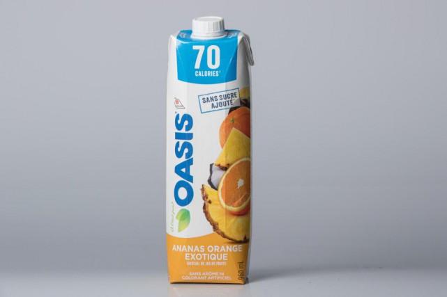 Oasis propose un jus qui ne fournit que... (Photo Ivanoh Demers, La Presse)