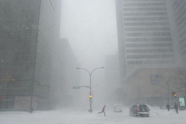 Il fait froid, il fait gris, et vous... (PHOTO MARTIN CHAMBERLAND, ARCHIVES LA PRESSE)