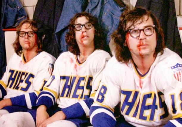 Les frères Hanson dans le film Slap Shot... (PHOTO FOURNIE PAR LA PRODUCTION)
