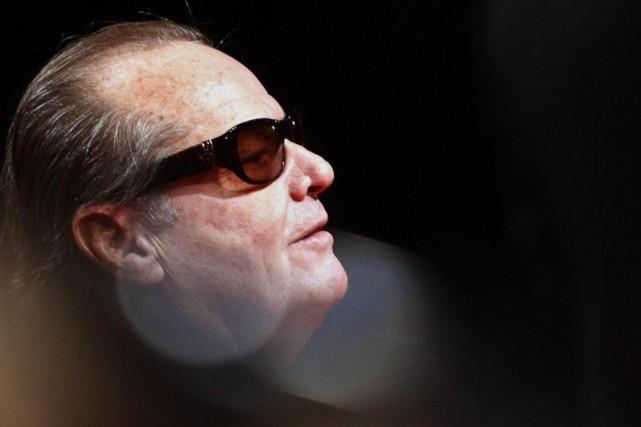 L'acteurJack Nicholson, que l'on voit ici en 2008,... (photoMARCUS BRANDT, archives agence france-presse)