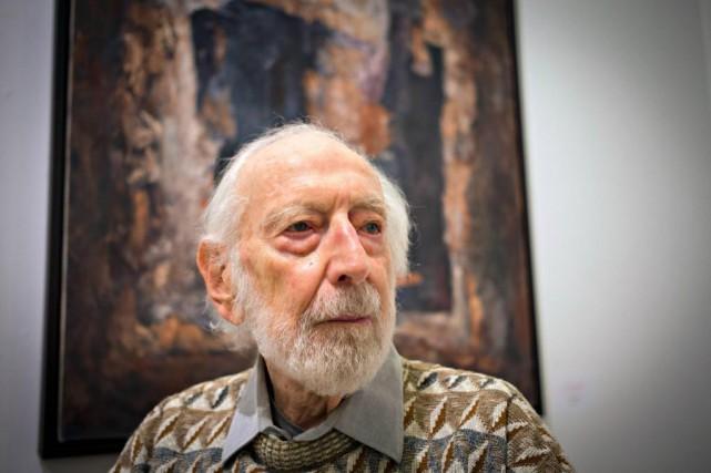 Léo Rosshandler, figure du milieu de l'art à... (Photo Olivier Jean, La Presse)