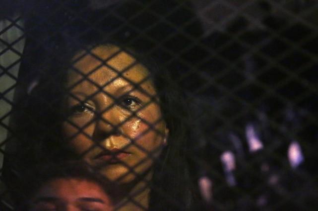 Guadalupe Garcia de Rayos a été renvoyée au... (Photo AP)