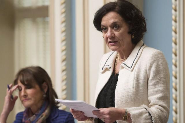 La ministre de la Réforme des institutions démocratiques,... (Archives, La Presse canadienne)