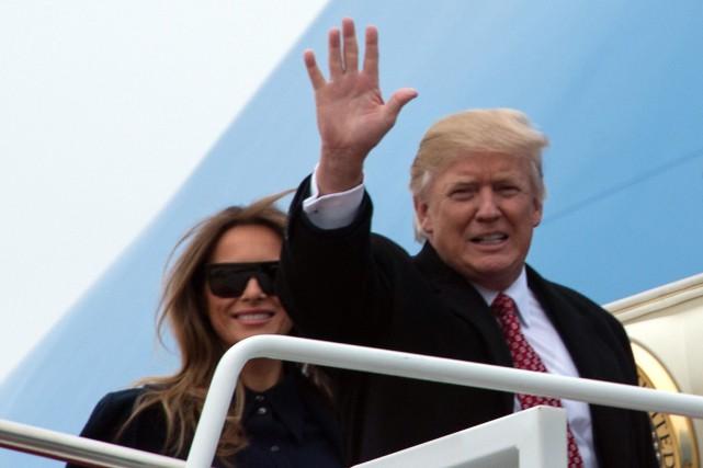 Trump a précisé qu'il n'y aurait pas de... (Agence France-Presse)