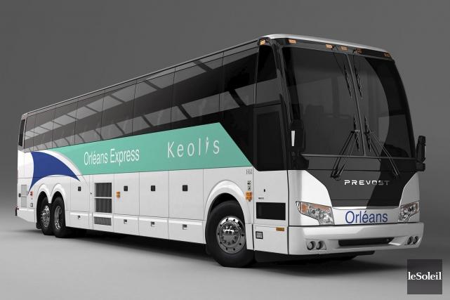 Prévost fournira 46 nouveaux véhicules à Keolis Canada.... (Photothèque Le Soleil)