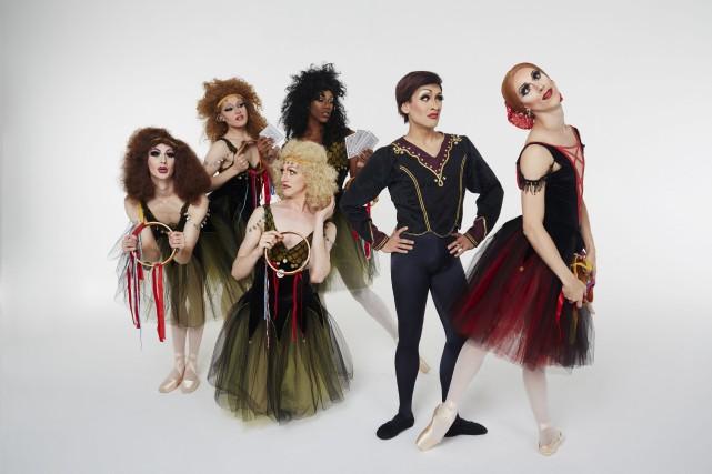 Sur scène, l'effet spectaculaire des Ballets Trockadero tient... (Courtoisie)