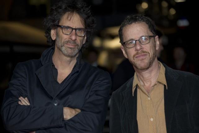 Les frères Coen ont collaboré aux scénarios de... (Photo AP)