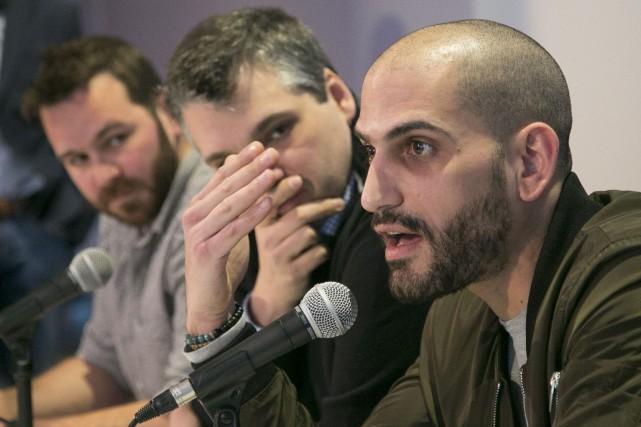 Le réalisateur Gabriel Allard-Gagnon, le producteur délégué Mathieu... (Spectre Média, René Marquis)