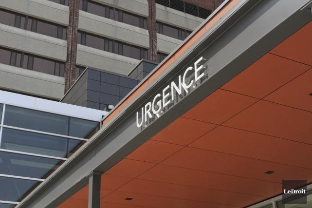 Les urgences sont toujours bondées dans la région... (Etienne Ranger, Archives Le Droit)