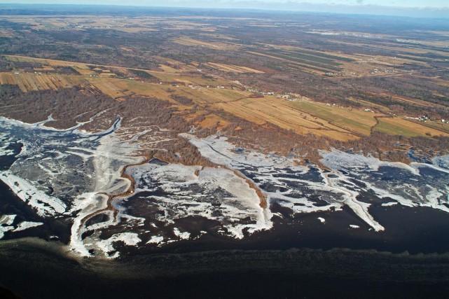 Le marécage de Grondines... (Fournie par Conservation de la nature Canada)