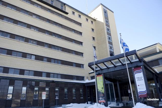 L'hôpital de Jonquière... (Photo Le Quotidien, Jeannot Lévesque)