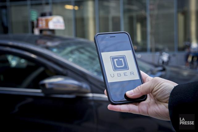 Uber, déjà montré du doigt dans plusieurs affaires ces derniers jours, a avoué... (Archives La Presse)