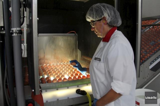 L'usine Burnbrae Farms située à Upton acheminera plus... (archives La Voix de l'Est)