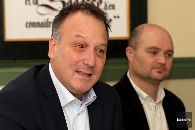 Le député fédéral de Shefford, Pierre Breton, a... (Christophe Boisseau-Dion, La Voix de l'Est)