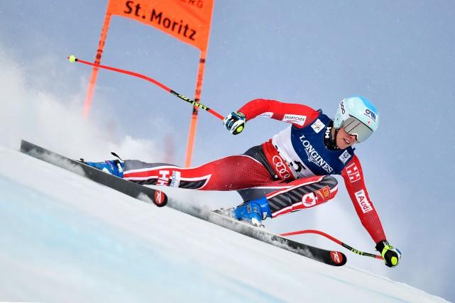 Marie-Michèle Gagnon a pris le 16e rang en... (AFP, Fabrice Coffrini)