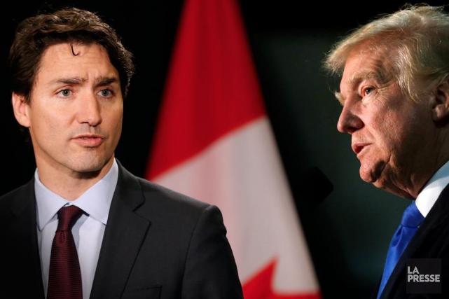 Justin Trudeau n'est certainement pas le premier dirigeant... (Photomontage La Presse)