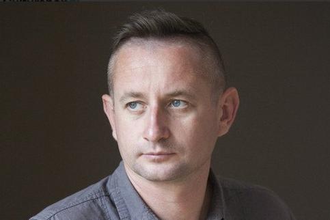 Serhiy Jadan vaêtre expulsé de laBiélorussie.... (Photo tirée de Twitter)