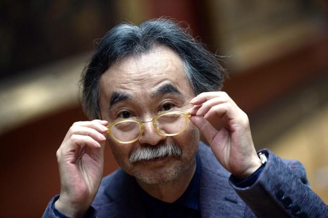 Jirô Taniguchi... (Photo STEPHANE DE SAKUTIN, archives AFP)