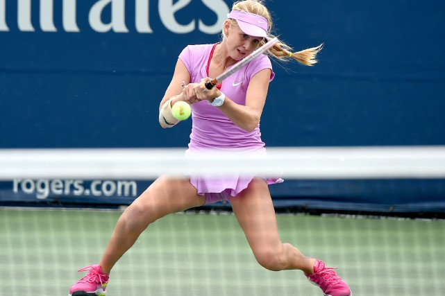 Katherine Sebov a gagné contreBarbara Gatican en deux... (Photo Dan Hamilton, archives USA TODAY Sports)