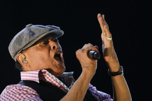 Al Jarreau en spectacle à Rio de Janeiro,... (Archives AP)