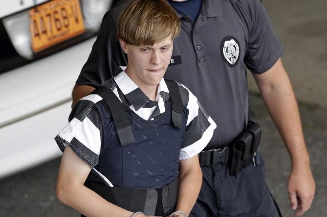Dylan Roof, âgé de 22 ans, a été... (Archives AP)