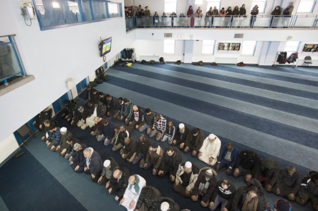 Une mosquées... (Photo La Presse Canadienne)