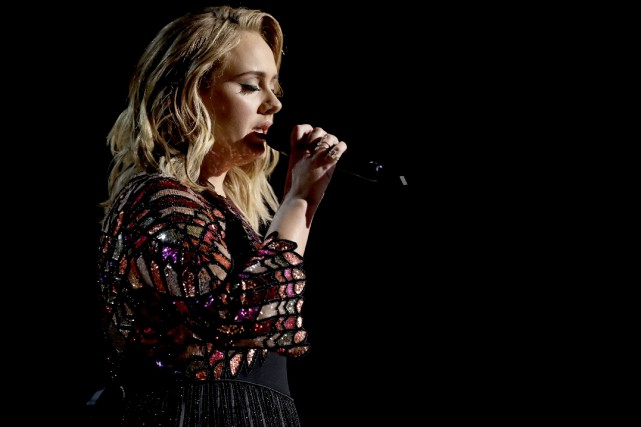 Adele a laissé entendre que sa tournée en appui à son plus récent album,... (Photo Matt Sayles, archives Invision/AP)