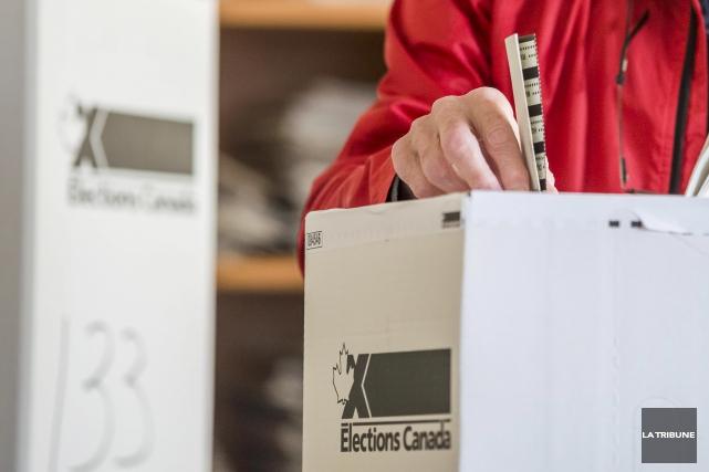 Au cours de la campagne électorale fédérale de 2015, le chef du Parti libéral... (Archives La Tribune, Frédéric Côté)