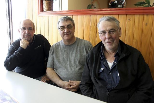 René Richard, Gordon St-Gelais et Jean-Claude Pinet du... (Collaboration spéciale Fanny Lévesque)